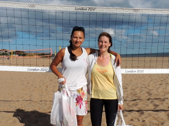 The 2013 Ladies Winners: Gosia and Clair