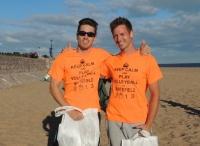 The 2013 Men's winners: Ben Turner and Adam Lisowski